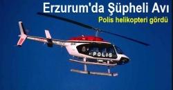 Polis helikopteri şüpheli otoyu yakalattı!