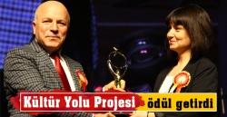 Kültür Yolu Projesi ödül getirdi