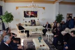 AK Partili vekilden CHP'li başkana ziyaret