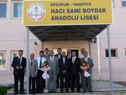 Boydak'tan Erzurum'a spor salonu!