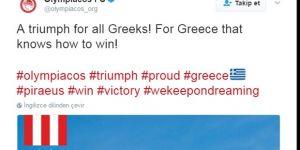 Olympiakos'tan olay paylaşım! İntikam...