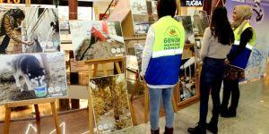 """AVM'de """"Dünya Su Günü"""" fotoğraf sergisi açıldı"""