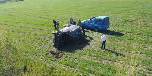 Horasan'da askeri araç kaza yaptı: 3 asker yaralı