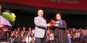 Erzurum THM Çocuk Korosu'ndan yılsonu konseri