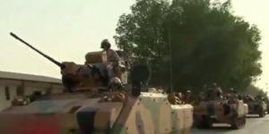 Türk askerleri Katar'da