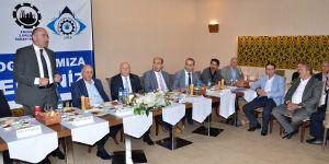 2. OSB yönetiminden yatırımcılara iftar