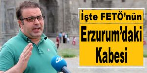 İşte Fetö'nün Erzurum'daki Kabesi