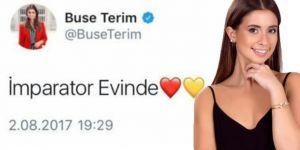 Buse Terim'den o tweet'e ilişkin açıklama