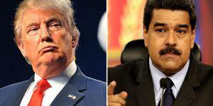 Trump'tan Maduro'ya tehditkar yanıt