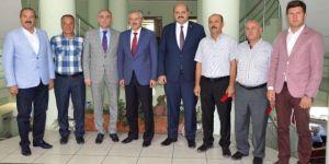 Tatlısu Belediye Başkanı Orçan, Erzurum'da İncelemelerde Bulundu