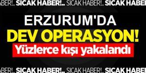 Erzurum'da Aranan 995 Kişi Yakalandı!