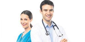 Sağlık çalışanına çifte müjde.