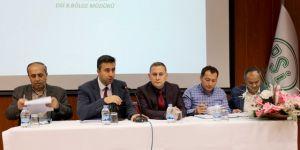DSİ 8. Bölge Müdürlüğü'nde Şenkaya ilçesinin talepleri ele alındı