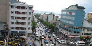 Erzurum trafiğinde yüzde 0.36'lık artış