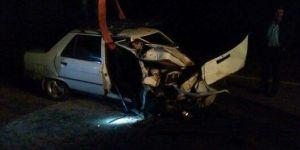 İspir'de trafik kazası: 1 ölü, 2 yaralı