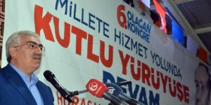 AK Parti'de 4 İlçenin 6. Olağan Kongresi Yapıldı