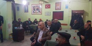 MHP yönetimi mahalle temsilcileri ile istişare toplantısı yaptı