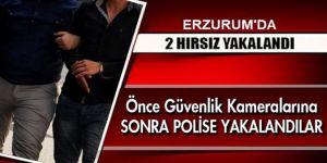 Erzurum'da İki Hırsızlık Zanlısı Tutuklandı