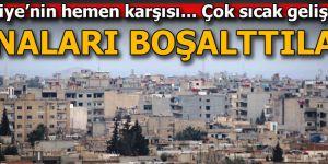 Kamışlı'daki YPG'lileri korku sardı