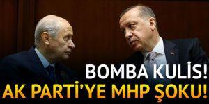 AK Parti'ye MHP şoku