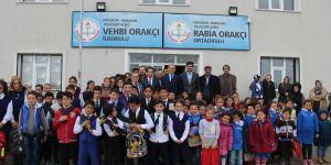 Erzurum'da Vehbi Orakçı'ya teşekkür töreni