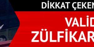 Kırşehir Valisi Necati Şentürk'ün Zülfikar'lı vedası