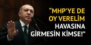 Erdoğan'dan AK Partili vekillere 'mühür hatası' uyarısı