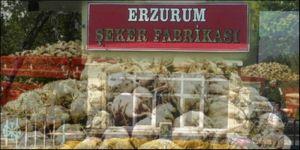 Erzurum şekere müşteri çıktı