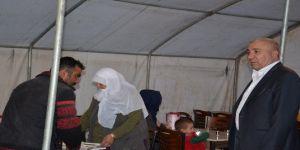 Başkan Kılıç, orucunu iftar çadırında açtı