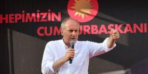 Erdoğan'dan Muharrem İnce'ye proje mesajı