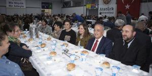 Atatürk Üniversitesi ailesi iftarda bir araya geldi