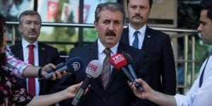 Mustafa Destici'nin 'AK Parti' itirazı YSK tarafından reddedildi
