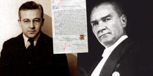 Sabahattin Ali'nin Atatürk'e mektubu ortaya çıktı