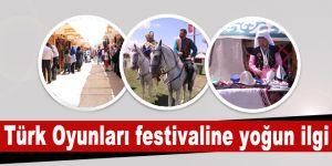 Türk Oyunları festivaline yoğun ilgi