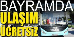 Erzurum'da Kurban Bayramı'nın İlk Günü Ulaşım Ücretsiz