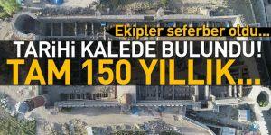 Erzurum Kalesi'nde bulundu