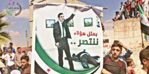 İdlib'de Karlov'un katili için açılan pankarta sert tepki