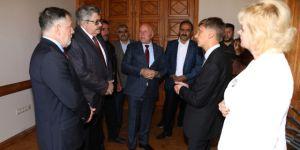 Rusya Ankara Büyükelçisi Yerhov'dan Başkan Sekmen'e Müze Teşekkürü