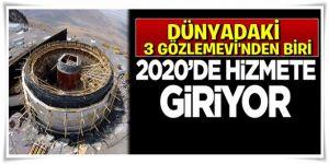 Türkiye'nin En Büyük Gözlemevi Erzurum'da Yükselmeye Devam Ediyor