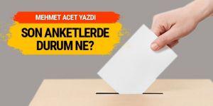 AK Parti'de gelen son anket sonuçları Mehmet Acet yazdı