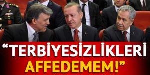 Bülent Arınç'tan Abdullah Gül açıklaması: Yapılan terbiyesizlikleri affedemem!