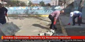 Erzurum'da böyle öğretmenlerde var!