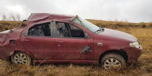 Aşkale'de Trafik Kazası: 1 Yaralı