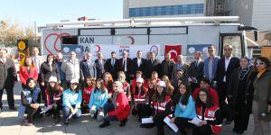 Lise öğrencilerinden kök hücre bağış projesi
