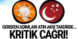 AK Parti'den Saadet Partisi'ne Nazır Cihangir İslam çağrısı!