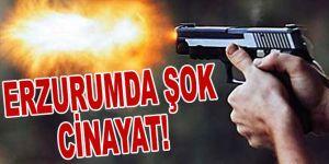 Erzurum'da cinayet!