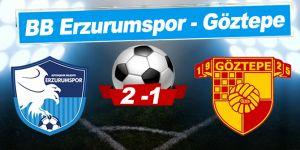 BB Erzurumspor - Göztepe: 2-1