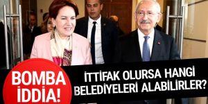 CHP-İYİ Parti ittifakı yerel seçimde hangi belediyeleri kazandırır?