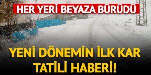 Tunceli'nin Pülümür ilçesinde okullar 2 gün tatil edildi