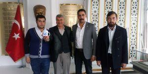 Erzurum Ülkü Ocakları ortaöğretim birimi, öğretmenleri unutmadı